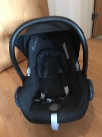 Bugaboo bee 3 stroller with baby cocoon+maxi cosi carseat