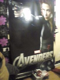Large marvel poster