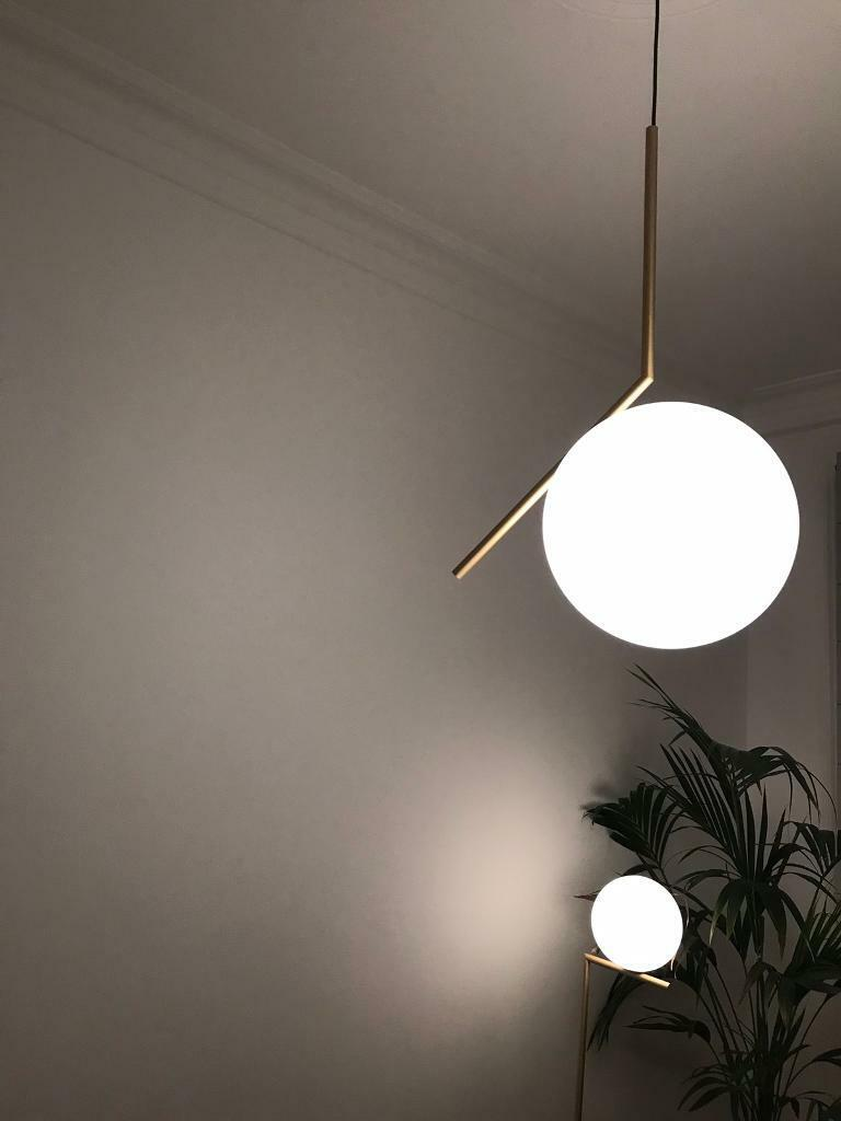 Flos Floor Lamp And Ceiling Lamps Ic1