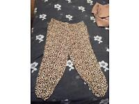 Papaya size 14 leopard print bottoms (can post)
