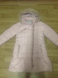 Girls winter coat next size 9-10 years