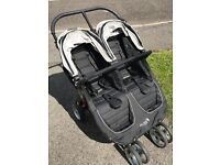 Baby Jogger City Mini double pushchair, nearly new