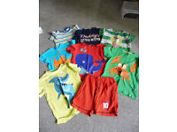 collection of boys t shirts 4-5