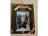 Metallica guitar tablature book