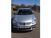 Golf Tdi diesel , silver 3dr mot until may 2017 very economical,140.000 millage