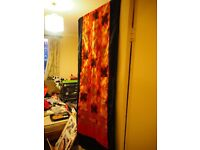 Indonesian printed wall hanging/table runner