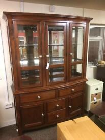 Gillies of Broughty Ferry display cabinet * free furniture delivery *