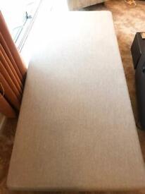New Single bed base 90cm / 3ft divan on wooden legs