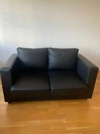 Brand new day-old leather sofa