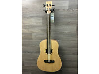 new tanglewood lined fretless travel bass / bass uke twrb e price drop