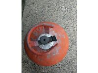 Calor gas bottle, 13kg, propan, red