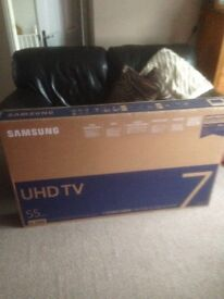 "Samsung 55"" ultra hd smart 4k tv"