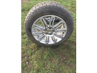 """20"""" Land Rover alloy wheel with new tyre"""