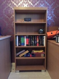 Bookcase with adjustable shelves - can deliver locally