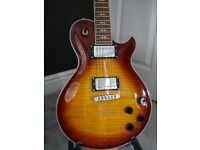 Michael Kelly Patriot Decree Electric Guitar in Honeyburst