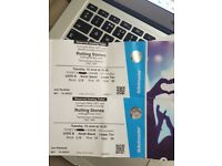 2 Rolling Stones Tickets 19th June 2018 North Stand Lower Tier