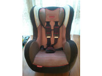 CAR SEAT, FISHER PRICE, UNIVERSAL,SIDE PROTECTION, SUITABLE FROM NEW BORN TO 6 YEARS OLD, 0 - 18 kg