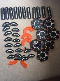 Hex bugs x 5 and large track