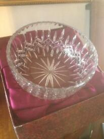 Royal doulton glass bowl