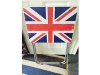 Folding Union Jack Table