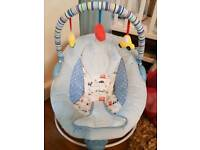 New Mothercare baby bouncer £30