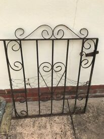 "2'4"" Path Gate, wrought iron"