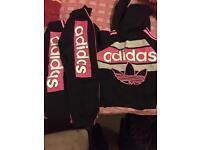 Girls adidas tracksuit
