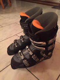 Salomon Ski Boots (Size 12) & Bag