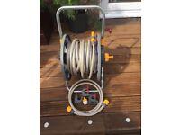 Brand new hozelock hose and reel 25 m