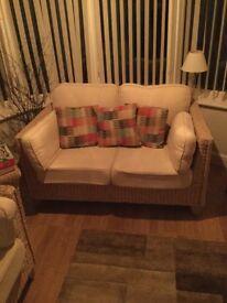 Conservatory sofas x 2 ,