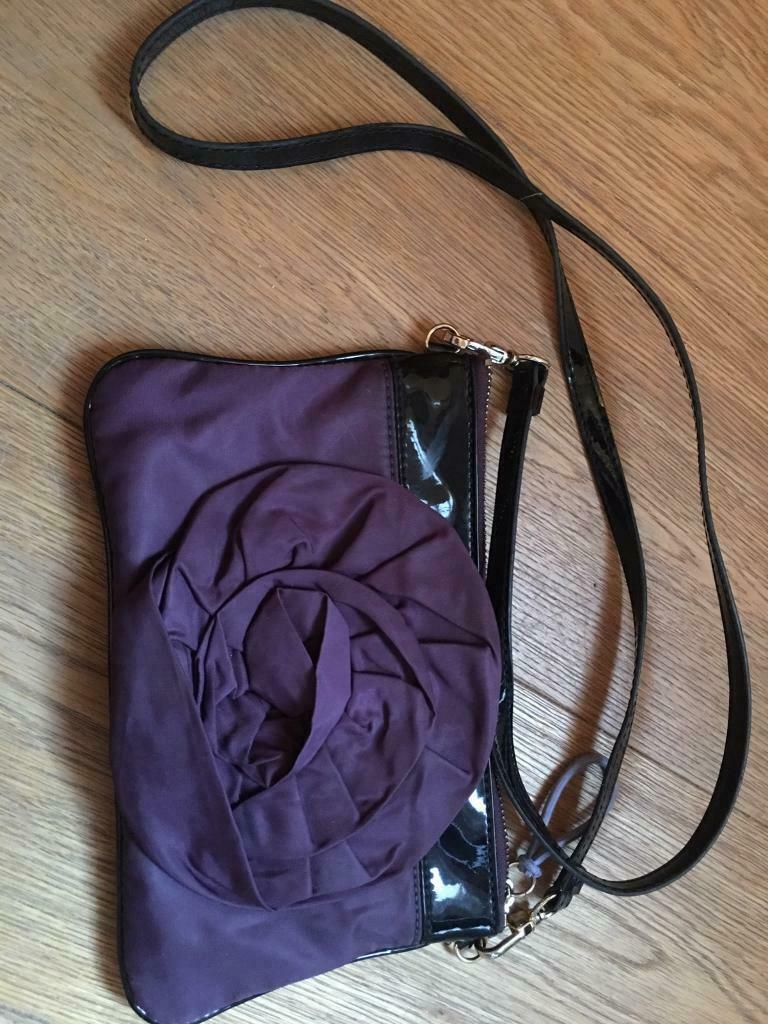 8b46628462b Purple flower purse - Steven by Steve Madden