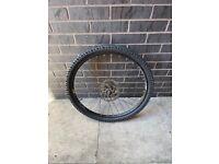 MTB bicycle rear wheel(disc brakes)