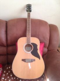 EKO RANGER VI 6 Natural. Acoustic Guitar. Almost New