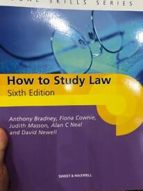 How to study law (6th edition)