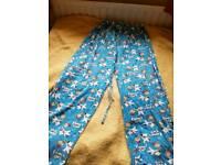 Family guy pyjama bottoms 25 inch inside leg
