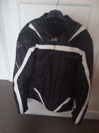 RK Sport motorbike leathers. Jacket + Trousers. Very good condition