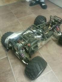 2 stroke rc car 1/5 scale