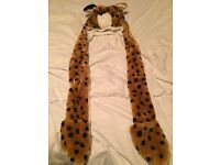 Animal hat gloves and scarf