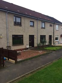 2/3 bedroom house in Tenacres, Sauchie to rent - part furnished.