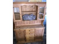 Large Pine Kitchen Dresser