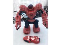 Spidersapien with control / robot