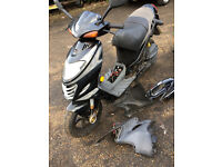 SUZUKI KATANA AY50 2005 Non runner for spares and repairs