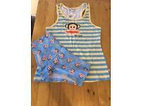 Paul Frank medium ladies vest and short set / pyjamas