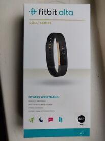 Fitbit Alta - Gold Series (Brand new)