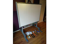 SMART Board SB660, 64 Inch Interactive Whiteboard with stand