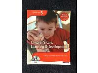 Children's care, learning and development NVQ level 3 textbook