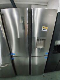 HISENSE Fridge Freezer - Stainless Steel *Ex-Display* (12 Month Warranty)