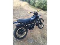 Yamaha xt 250 (road legal)