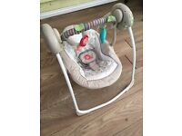 *Mothercare baby swing*