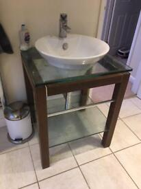 Sink and unit